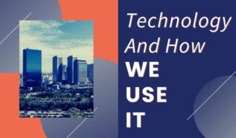How We Use Technology image