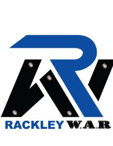 Rackley War Logo